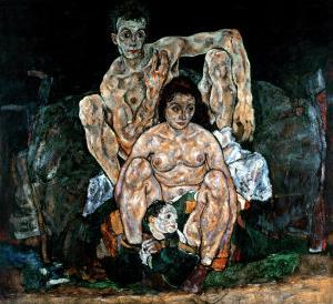 The Artist's Family by Egon Schiele