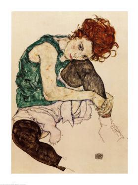 The Artist's Wife by Egon Schiele