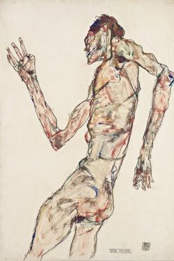 The Dancer, 1913 by Egon Schiele