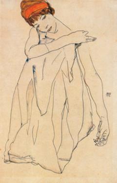 The Dancer by Egon Schiele