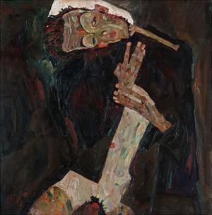 The Lyricist by Egon Schiele