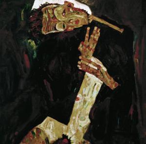 The Poet (Self-Portrait), 1911 by Egon Schiele