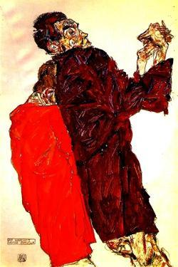 The Truth Unveiled, 1913 by Egon Schiele