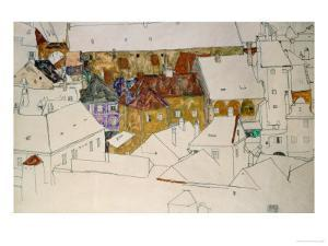 The Yellow Town, 1914 by Egon Schiele