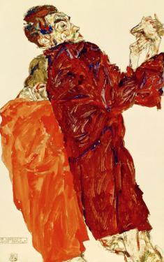 Truth Unveiled, 1913 by Egon Schiele