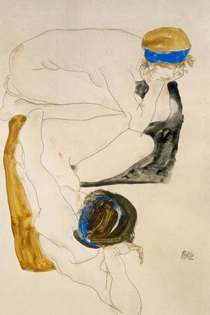 Two Reclining Figures, 1912