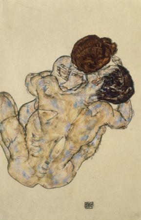 Umarmung (Embrace), 1917 by Egon Schiele