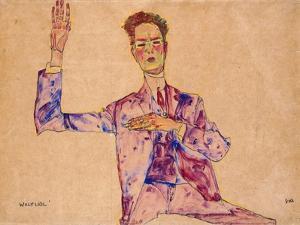 Willy Lidl, 1910 by Egon Schiele