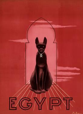 Egypt Black Cat c.1947