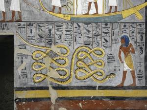 Egypt, Thebes, Luxor, Valley of the Kings, Tomb of Ramses I
