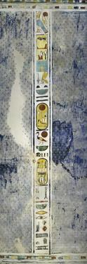 Egypt, Thebes, Luxor, Valley of the Kings, Tomb of Ramses Iv, Mural Paintings on Ceiling