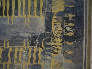 Egypt, Thebes, Luxor, Valley of the Kings, Tomb of Ramses IX