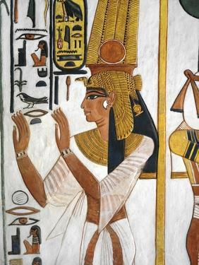 Egypt, Thebes, Luxor, Valley of the Queens, Tomb of Nefertari, Annex to Antechamber
