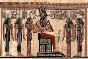 Egyptian Hieroglyphics I Art Print Poster