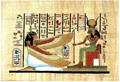 Egyptian Hieroglyphics MUMMY Ancient Art Print POSTER
