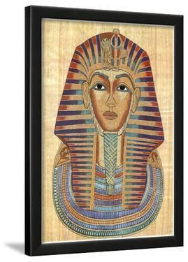 Egyptian King Tut Art Print POSTER Pharaoh Ancient