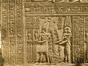 Relief Depicting Ptolemy Viii Euergetes Ii by Egyptian Ptolemaic Period
