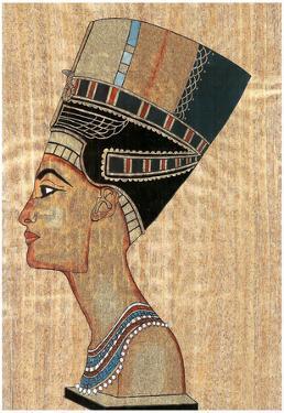 Egyptian Queen Poster