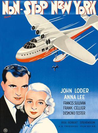 Non-Stop New York - Starring John Loder and Anna Lee - Directed by Robert Stevenson