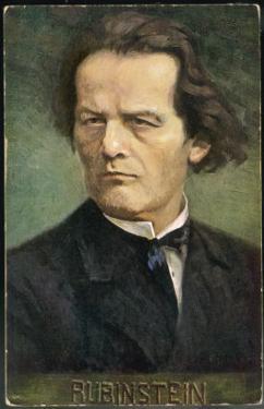 Anton Rubinstein Russian Musician by Eichhorn
