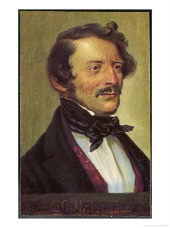 Gaetano Donizetti Italian Opera Composer