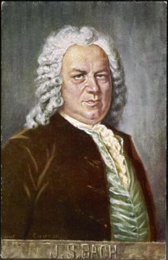 Johann Sebastian Bach German Organist and Composer by Eichhorn