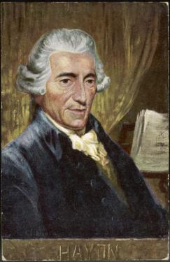 Joseph Haydn Austrian Musician and Composer by Eichhorn