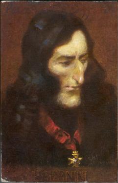 Niccolo Paganini Italian Musician by Eichhorn