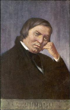 Robert Schumann German Musician by Eichhorn