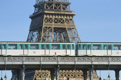 Eiffel Tower and Métro, Paris, France