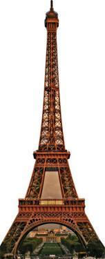 Eiffel Tower Cardboard Cutout