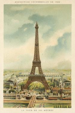 Eiffel Tower, Exposition Universelle 1889, Paris