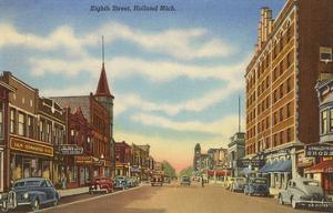 Eighth Street, Holland, Michigan