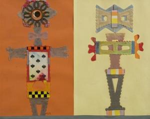 Eight of Spades, The, 1967 by Eileen Agar