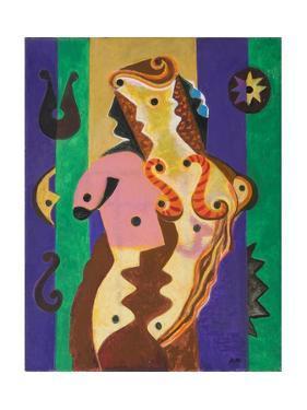 Instrumental Nude, 1981 by Eileen Agar