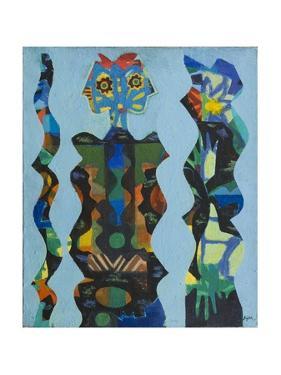 Three Figures, 1965 by Eileen Agar
