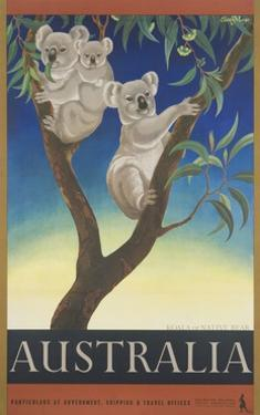 Australia Poster by Eileen Mayo