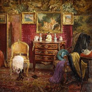 An Interior of a Boudoir, 1916 by Einar Wegener