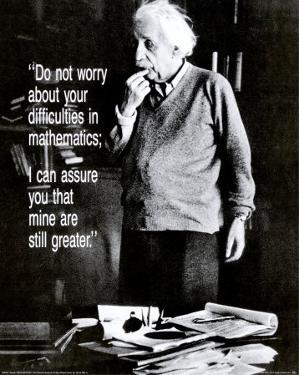 Einstein: Do Not Worry