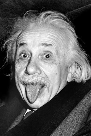 Einstein, Tongue