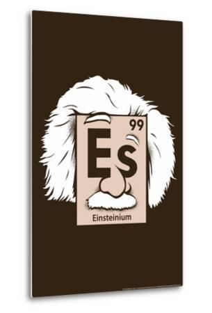Einsteinium Element Snorg Tees Poster