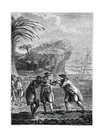 Sale of a Negro Slave by Eisen