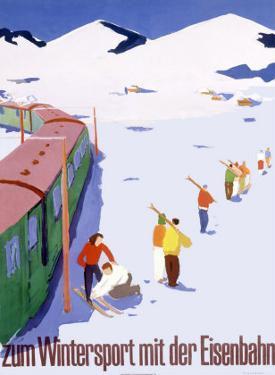 Eisenbahn Winter Sports