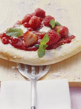A Piece of Berry Pizza (Yeast Cake with Berries) by Eising Studio - Food Photo and Video
