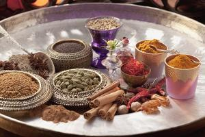 An Selection of Indian Spices by Eising Studio - Food Photo and Video
