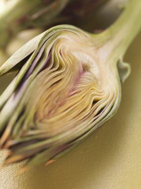 Artichoke, Halved by Eising Studio - Food Photo and Video
