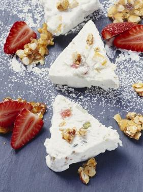Cassata Siciliana (Ice Cream with Candied Fruit and Nuts) by Eising Studio - Food Photo and Video