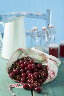 Cherries and Cherry Jelly by Eising Studio - Food Photo and Video