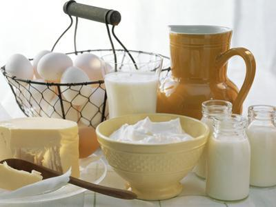 Dairy Still Life with Eggs by Eising Studio - Food Photo and Video