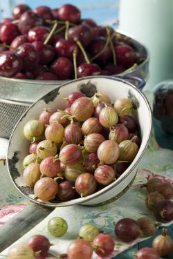 Gooseberries and Cherries by Eising Studio - Food Photo and Video